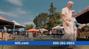 AIG Guaranteed Acceptance Whole Life Insurance TV Spot, 'Not All the Same' - Thumbnail 2