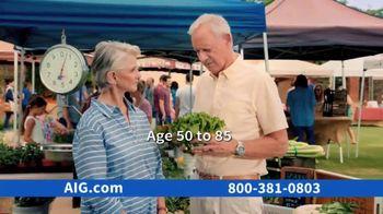 AIG Guaranteed Acceptance Whole Life Insurance TV Spot, 'Not All the Same' - Thumbnail 6