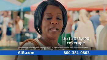 AIG Guaranteed Acceptance Whole Life Insurance TV Spot, 'Not All the Same' - Thumbnail 9