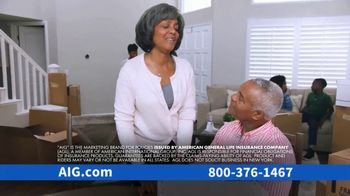 AIG Guaranteed Acceptance Whole Life Insurance TV Spot, 'Moving' - Thumbnail 2
