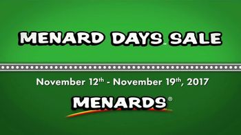 Menard Days Sale TV Spot, 'Batteries and Home Safety' - Thumbnail 1
