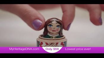 MyHeritage DNA TV Spot, 'Thanksgiving $59 November 23' - Thumbnail 8