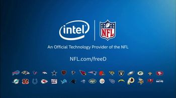 NFL freeD Highlights TV Spot, 'Be the Player. See the Field.' - Thumbnail 8