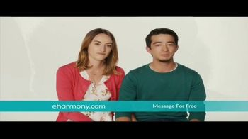 eHarmony Free Communication Weekend TV Spot, 'Message for Free'