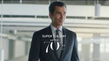 JoS. A. Bank Super Tuesday Sale TV Spot, 'Storewide Savings'