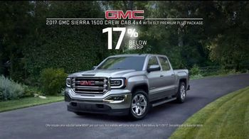 2017 GMC Sierra 1500 TV Spot, 'Dad Like a Pro' Song by Barry Louis Polisar [T2] - Thumbnail 7