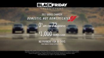Dodge Black Friday Sales Event TV Spot, 'Born This Way: 2017 Charger' - Thumbnail 6