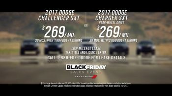 Dodge Black Friday Sales Event TV Spot, 'Born This Way: 2017 Charger' [T2] - Thumbnail 7