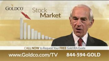 Goldco Gold IRA TV Spot, 'You Owe It to Yourself' Featuring Ron Paul