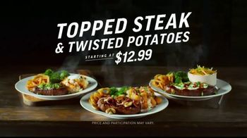 Applebee's Topped Steak & Twisted Potatoes TV Spot, 'Dreams Come True'