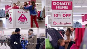 Burlington TV Spot, 'ABC: Warm Coats & Hearts Drive'