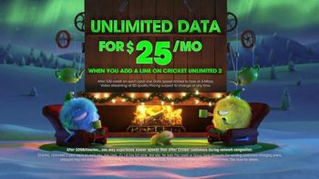 Cricket Wireless Unlimited 2 Plan TV Spot, 'Holiday Magic'