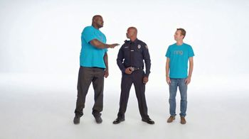 Ring TV Spot, 'Helpful Police Officer' Featuring Shaquille O'Neal - Thumbnail 9
