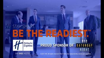 Holiday Inn Express TV Spot, 'SEC Network: The Readiest' Ft. Paul Finebaum - Thumbnail 9