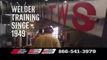 Tulsa Welding School TV Spot, 'We Are Welding'