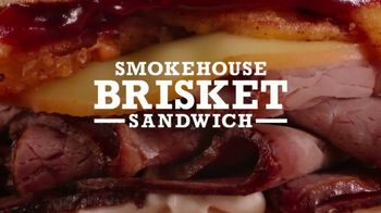 Arby's Smokehouse Brisket Sandwich TV Spot, 'What We Make'