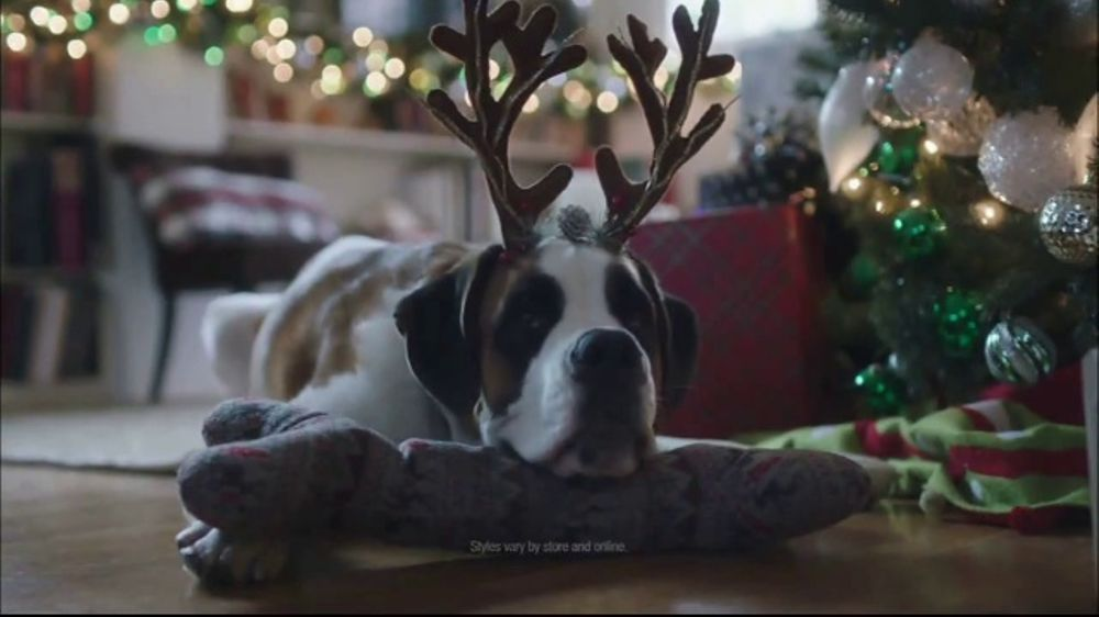 tjx companies tv commercial squeaky toy jingle bells ispottv - Animals Singing Christmas Songs
