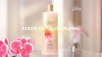 Caress Daily Silk TV Spot, 'Aceite de fusión floral' [Spanish]