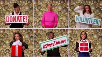 Feeding America TV Spot, 'ABC: Share the Joy' Featuring Anthony Anderson, Patricia Heaton - 12 commercial airings