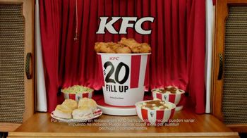 KFC $20 Fill Up Extra Crispy Tenders TV Spot, 'Compartir' [Spanish] - 2536 commercial airings