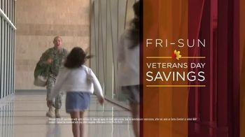 Mattress Firm 72 Hour Sale TV Spot, 'Veterans Day Savings: Sleep Trial'