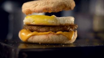 McDonald's Sausage McMuffin With Egg TV Spot, 'Either Side of the Bed' - Thumbnail 8