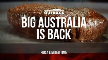 Outback Steakhouse Big Australia TV Spot, \'It\'s Back\'