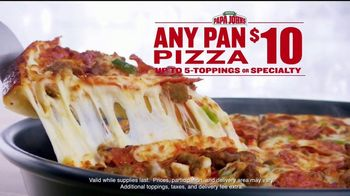Papa John's Pan Pizza TV Spot, 'Make the Field' - Thumbnail 8