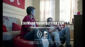 Taco Bell Live Más Spirit Contest TV Spot, 'Fitting In' Feat. Rece Davis - Thumbnail 10