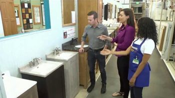 Menards Menard Days Sale TV Spot, 'Bathrooms: Vanities and Faucets' - Thumbnail 2
