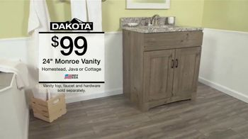 Menards Menard Days Sale TV Spot, 'Bathrooms: Vanities and Faucets' - Thumbnail 4