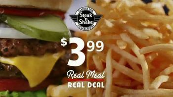 Steak 'n Shake Real Meal Real Deal TV Spot, 'Under Four Bucks'
