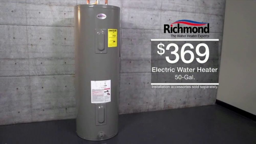 Menards Menard Days Sale TV Commercial, 'Morton Softener and Water Heater'  - Video