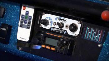 Rugged Radios TV Spot, 'Work, Race, Play' - Thumbnail 1
