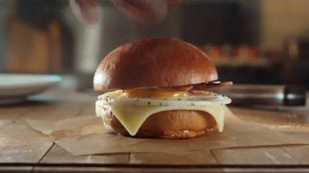 Panera Bread Bacon Egg and Cheese on Brioche TV Spot, 'Way Easier' - Thumbnail 6
