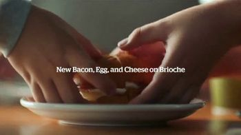Panera Bread Bacon Egg and Cheese on Brioche TV Spot, 'Way Easier' - Thumbnail 7
