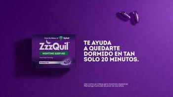 Vicks ZzzQuil TV Spot, 'Quédate dormido rápido' [Spanish] - Thumbnail 7