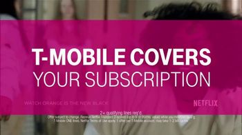 T-Mobile ONE Family Plan TV Spot, 'Netflix Included' Song by Landis - Thumbnail 2