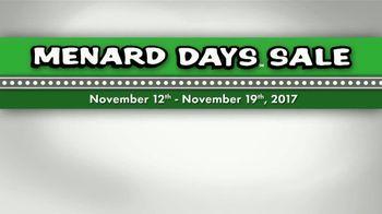 Menard Days Sale TV Spot, 'Bird Food and Power Tools' - Thumbnail 7
