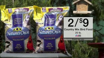 Menard Days Sale TV Spot, 'Bird Food and Power Tools' - Thumbnail 3