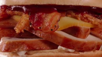Arby's Smokehouse Chicken Sandwich TV Spot, 'Maybe' - Thumbnail 6