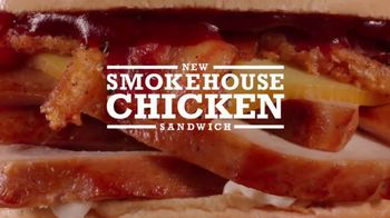 Arby's Smokehouse Chicken Sandwich TV Spot, 'Maybe' - 1888 commercial airings