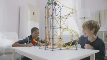 K'NEX Thrill Rides Mecha Strike Roller Coaster Building Set TV Spot, 'Epic'