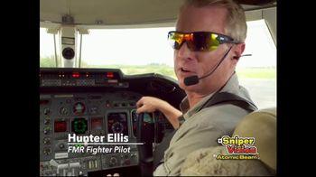 Atomic Beam Sniper Vision TV Spot, 'Sharp Clarity' Featuring Hunter Ellis - 70 commercial airings