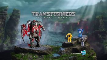 Transformers: The Last Knight Mega Turbo Changer Dragonstorm TV Spot, 'Bot' - 1356 commercial airings