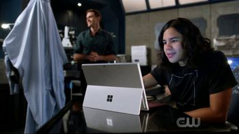 Microsoft Surface TV Spot, 'The Flash: Prototype' Featuring Hartley Sawyer - 2 commercial airings