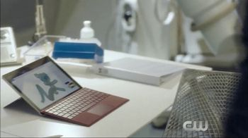 Microsoft Surface TV Spot, 'The Flash: Good Impression' Ft. Hartley Sawyer - Thumbnail 10