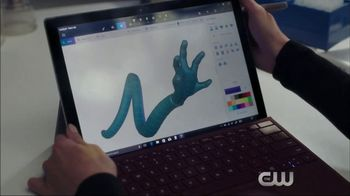 Microsoft Surface TV Spot, 'The Flash: Good Impression' Ft. Hartley Sawyer - 1 commercial airings