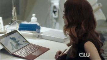 Microsoft Surface TV Spot, 'The Flash: Good Impression' Ft. Hartley Sawyer - Thumbnail 8