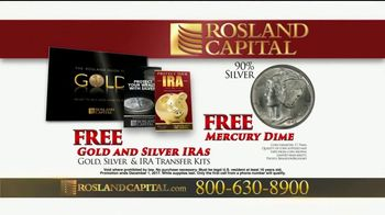 Rosland Capital TV Spot, 'Safer With Gold: Mercury Dime' Ft. William Devane - Thumbnail 9